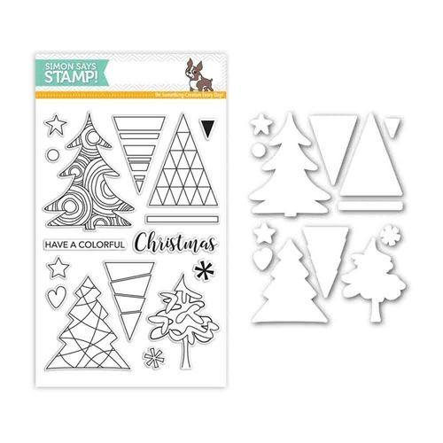 Simon Says Stamps And Dies COLOR ME TREES Set282CT Believe In The Season Preview Image