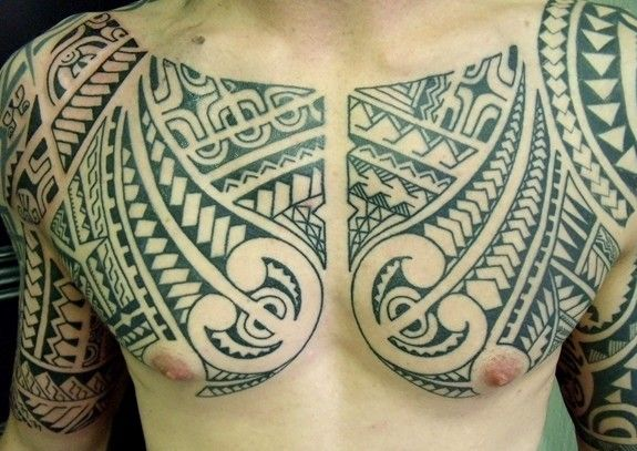 calypso tattoo belgium polynesian chest tattoos pinterest chest piece samoan tattoo and. Black Bedroom Furniture Sets. Home Design Ideas
