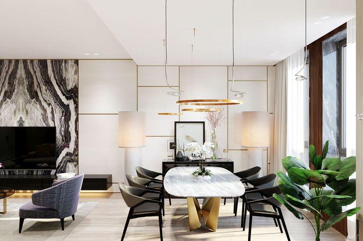 Интерьеры квартиры в ЖК BARRIN HOUSE