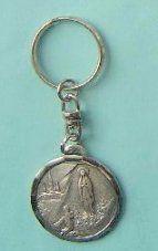 Apparition Silver Key Ring.