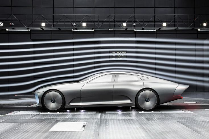 Mercedes IAA Concept - wind tunnel