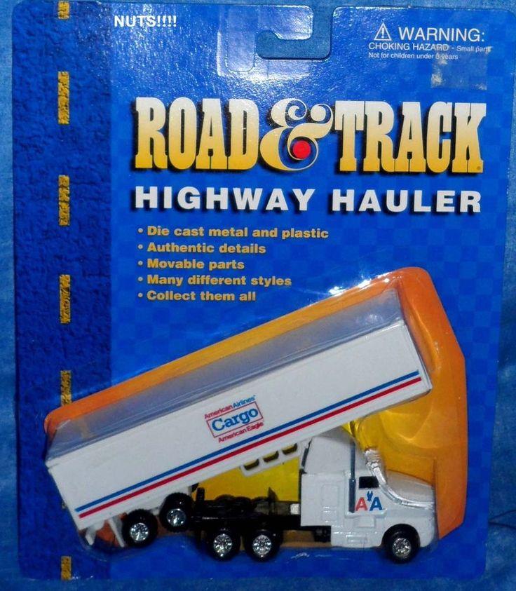 Road & Track Highway Hauler AMERICAN AIRLINES CARGO Truck