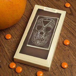 Day Of The Dead Chocolate Skull | From trick or treating and pumpkin carving, to watching scary movies and having a party, there's so much you can enjoy on the spookiest night of the year. Time to get Halloween-ready with tasty treats.