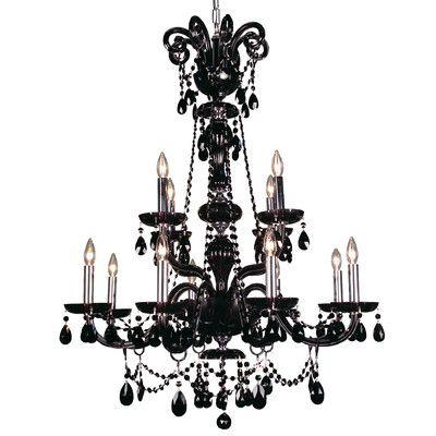 dCOR design Gothic 8 Light Crystal Chandelier & Reviews   Wayfair
