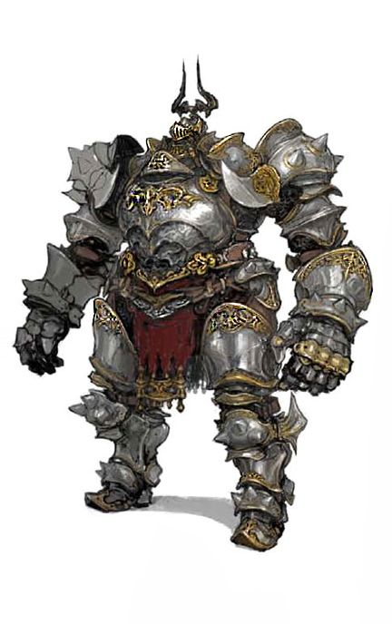 Heavy armor Knight | Fantasy Characters | Pinterest