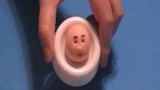 How To Create A Fondant Face, via YouTube.