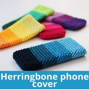 Cover per smartphone e cellulare schema free  Phone cover – Free pattern (ENG + NL)