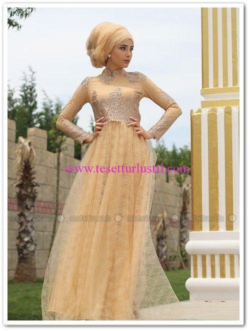 Nurbanu Kural 2016 Balköpüğü Abiye Elbise-Nişan Elbisesi