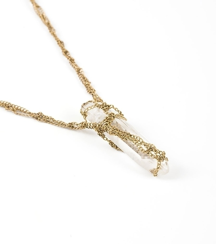 Catbird::shop by category::JEWELRY::Petite Crystal Necklace