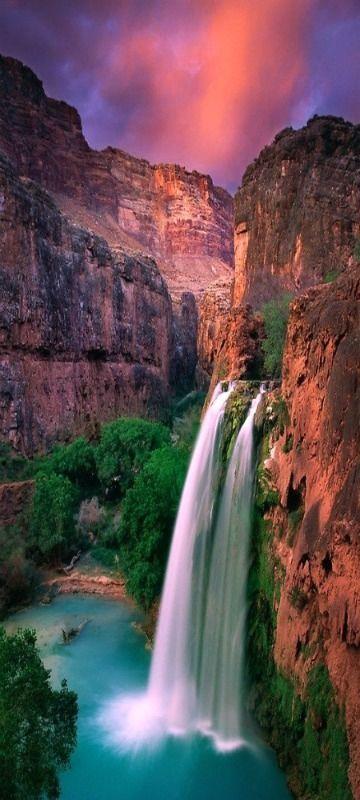Havasu Falls, Grand Canyon, Arizona - So beautiful! There is so much to love about Arizona!