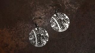 How do you clean sterling silver earrings?