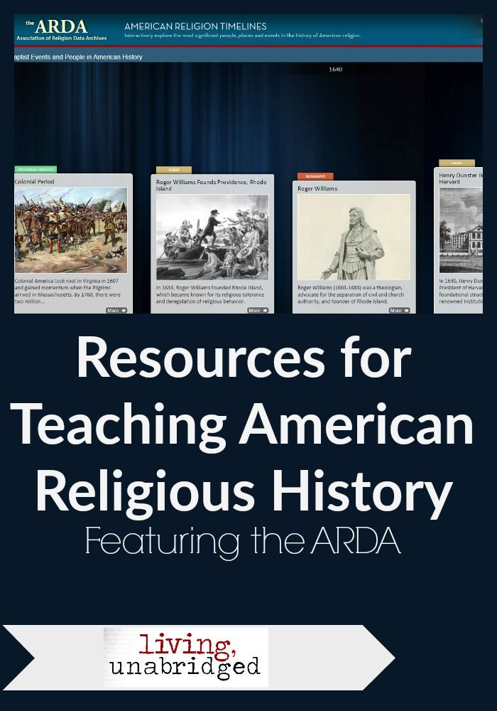 resources for teaching religion