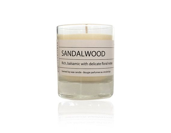 Sandalwood candle made with 100% Soy wax, Soy Wax Candle, natural candle, scented candle, room fragrance, soy candles for sale