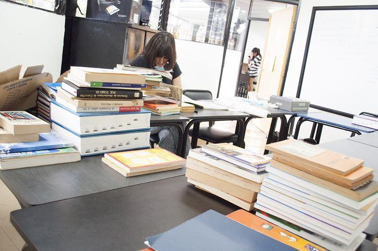 ¡La recolección de libros sigue avanzando! GRACIAS A TODOS POR EL APOYO.