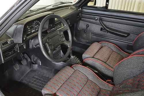 volkswagen passat pointer gts 1988 1989 cinza alcool
