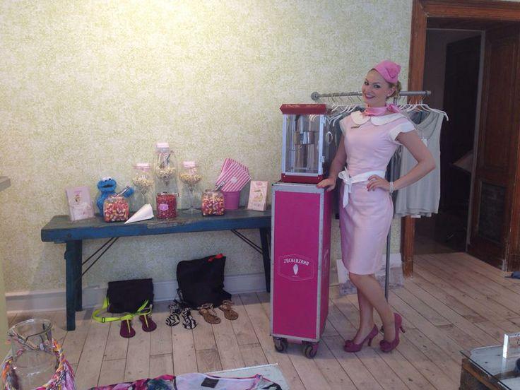 Bei Mand&Kvinde gab es am Samstag neben toller Mode auch Popcorn und Süßigkeiten !