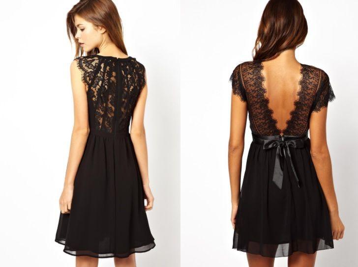 robe_noire_dos_dentelle_asos