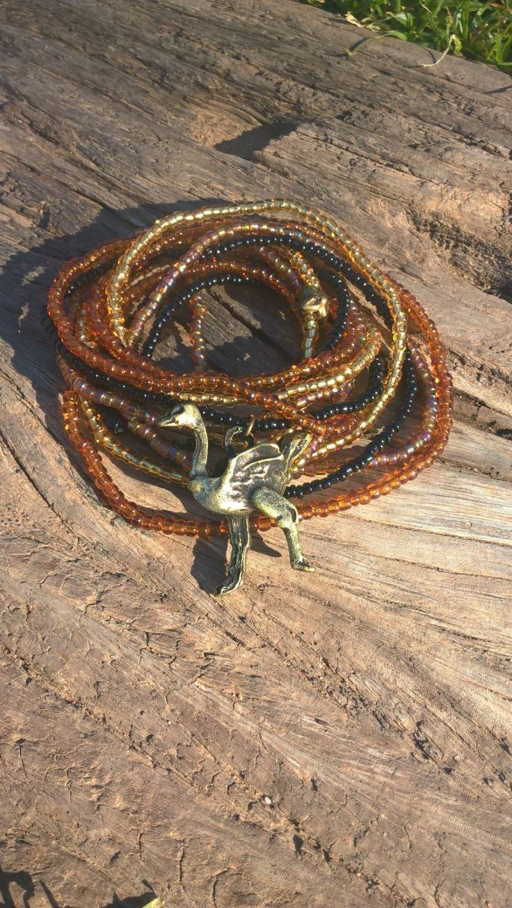 Out of Africa: Namib, African Beaded Wrap Bracelet, Beaded Necklace, Beaded…