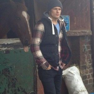 Sam Heughan and Friend at Outlanderworld -- Casting Commentary by Diana Gabaldon
