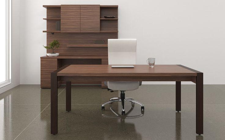 Mobilier de bureau exécutif en bois, par Artelite http://www.mabprofil.qc.ca/mobilier-de-bureau.html