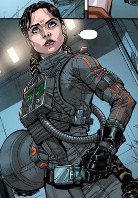 Princess Leia Solo-Skywalker.