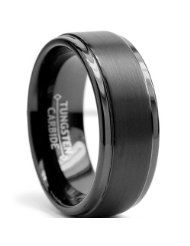 cheap durable mens rings - tungsten
