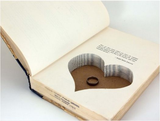 unique book ring holder