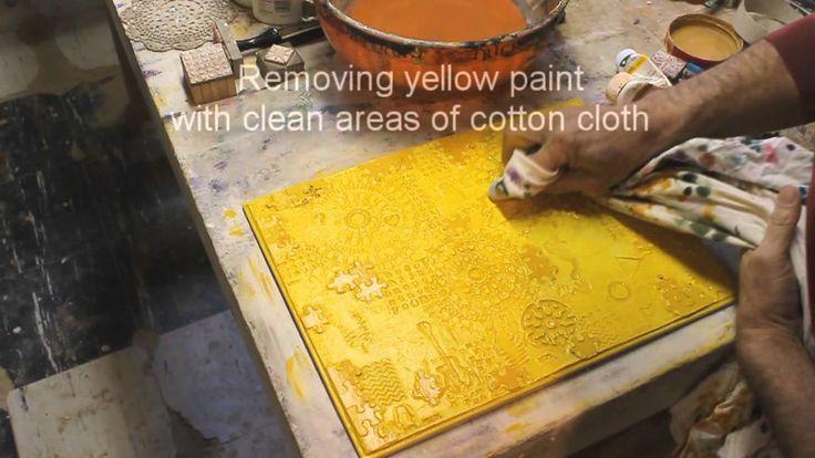 2012_03_My Textured Paintings_All Steps & Proceedures
