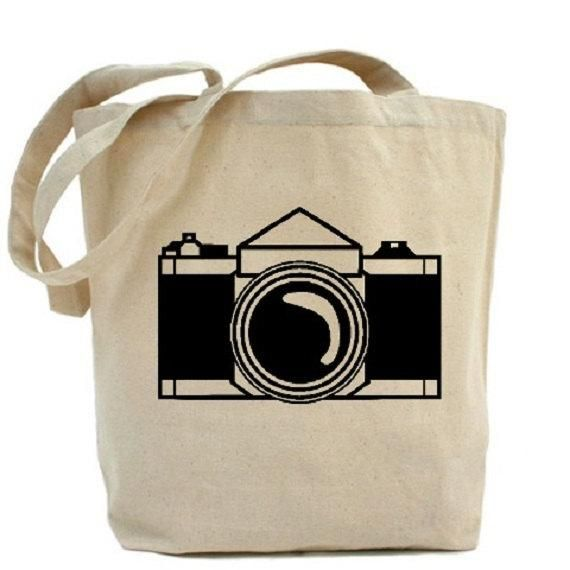 Tote Bag - retro camera by VIDA VIDA HFL4wqmn