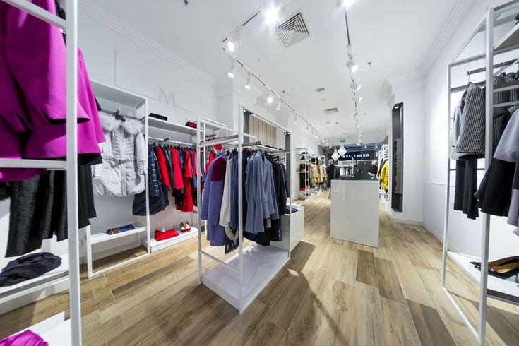 Fashion store lighting, Track Light & Rail Lighting, MOLTON, oświetlenie sklepu lampami LED