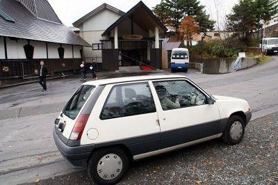 Renault 5 in Manza,Gunma,Japan.