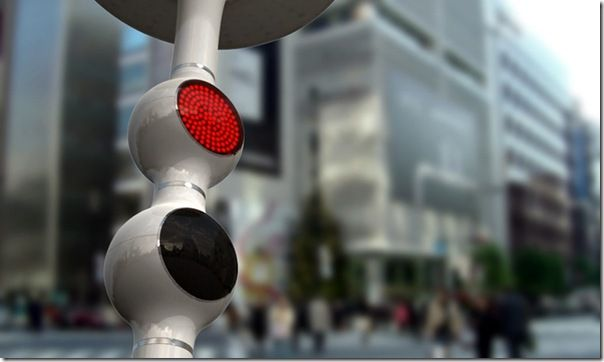 concept  future -  traffic light 2