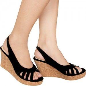 Sepatu Wedges Nami Hitam IDR212.000 SKU Ninetynine 8565 size 36-41  Hubungi Customer Service kami untuk pemesanan : Phone / Whatsapp : 089624618831 Line: Slightshoes Email : order@slightshop.com