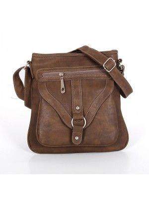#Ladies Brown #CrossBody #Bag #PrettyStyle