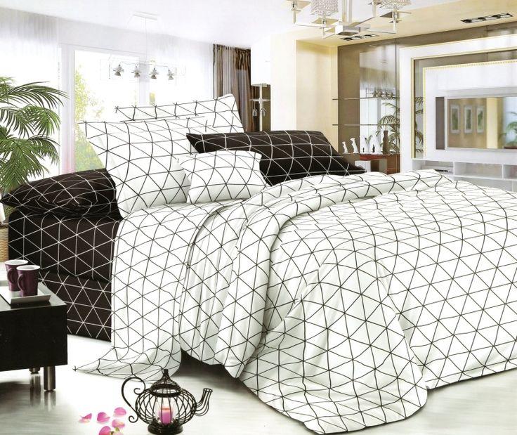 Biele prikrývky na manželskú posteľ