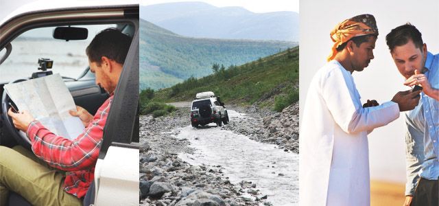 Discover the world in a 4wd.