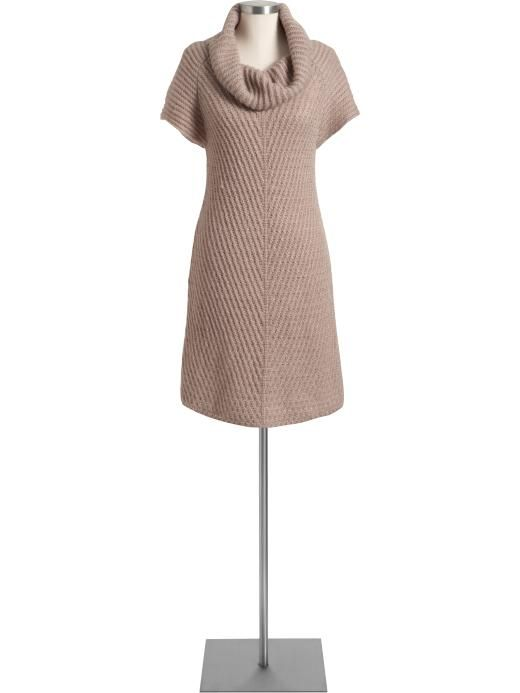 images of sweater dresses | Cowl-Neck Sweater Dress