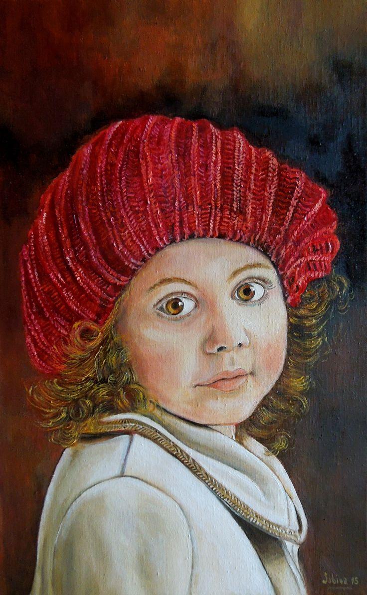 Sofia's red hat -25x40 - 2015