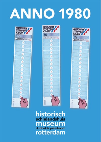 Old Dutch tickets for public transport called ´Strippenkaart´