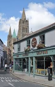 Posting out to the gorgeous city of Truro, Cornwall today.  City by the sea, #bestofbothworlds