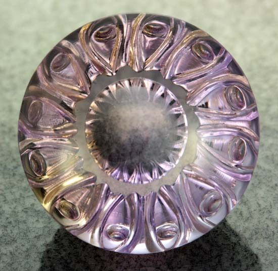 37.45 CTS  VVS  AMETRINE CARVING [S6459] fancy cut gemstones,gemstones, fashionable gemstones