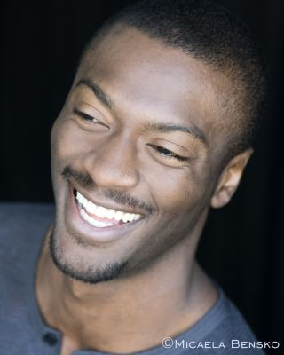 Aldis Hodge (Alec Hardison from Leverage) - Oh, to be 20 years younger... And he's an art student, too? Yum. ~cww