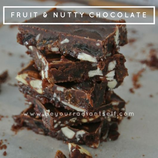 Fruit & Nutty Chocolate