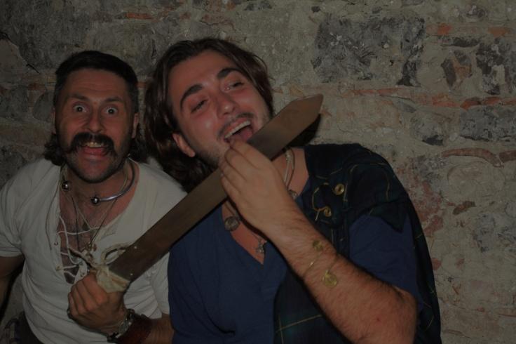 """il sangue del nemico è sempre più buono """"celti ciolti"""" -  mabon 2011 ai vecchi ippocastani"""
