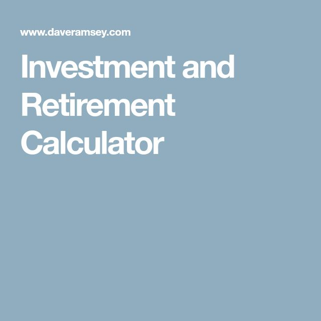 Best 25+ Retirement savings calculator ideas on Pinterest - retirement and savings calculator