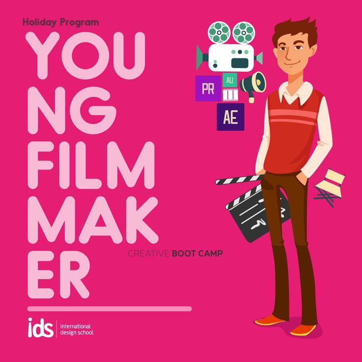#HolidayProgram Young Filmmaker (1-7 Juli 2015) Yuk bikin film bersama IDS di liburan ini. Info: http://bit.ly/LiburanKreatif_IDS  Daftar: 021-7980180 / 085697715636  #liburankreatif #holidayprogram #creativebootcamp #ids #filmmaker  www.idseducation.com