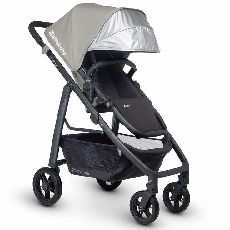UPPAbaby CRUZ Stroller (Pascal \ Silver)