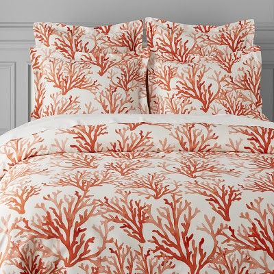 25 Best Ideas About Coral Bedding On Pinterest Navy