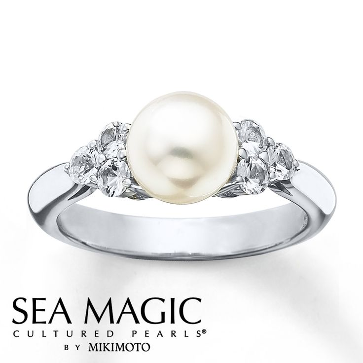 Pearl And Diamond Engagement Rings: 1212 Best Images About Jewelry/Bling Bling On Pinterest