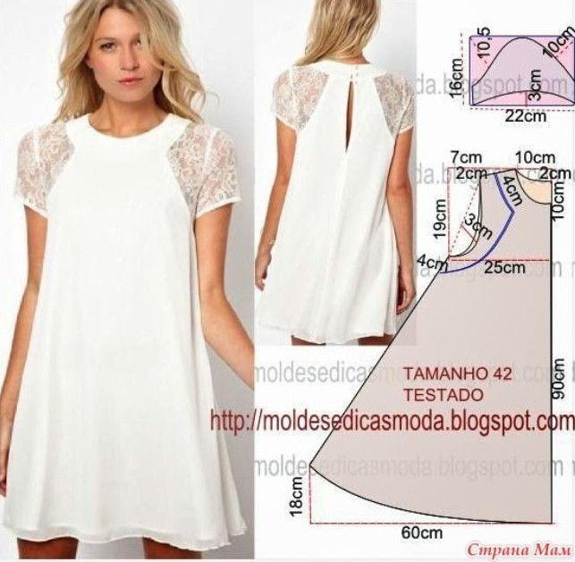 6 стильных выкроек платьев, которые идеально подойдут на любую фигуру!